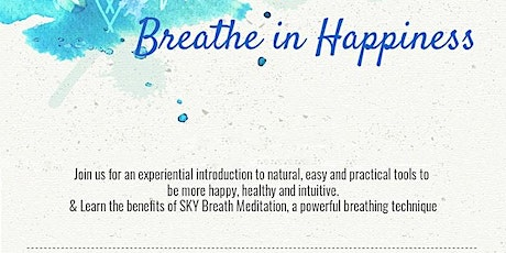 Power of Breath to remove Anxiety tickets