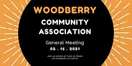 WCA February Community Meeting tickets