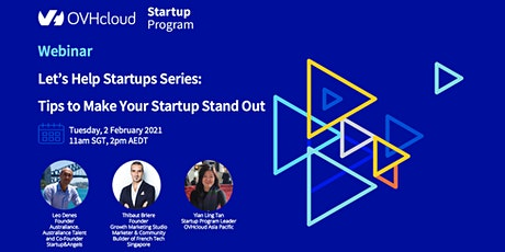 Let's Help Startups Series: Tips to Make Your Startup Stand Out tickets