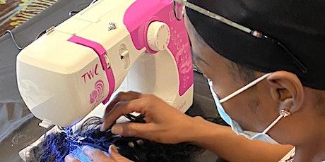Atlanta, GA | Enclosed Wig or U-Part Wig Making Class Sewing Machine tickets