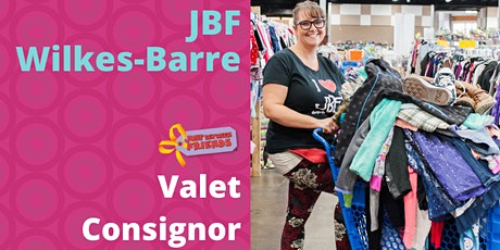 VALET Consignor Waiver- JBF Wilkes Barre Spring 2021- FOR VALET USE ONLY tickets