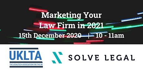 Marketing Your Law Firm in 2021 tickets