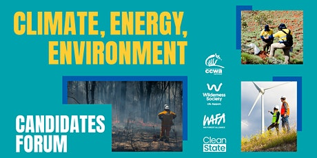 Climate, Energy and the Environment Candidates Forum tickets