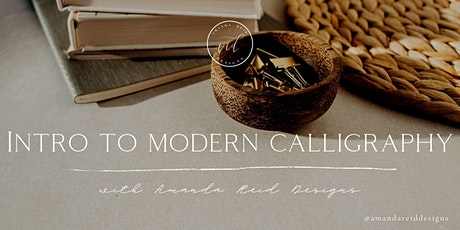 Intro to Modern Calligraphy Workshop with Amanda Reid Designs tickets