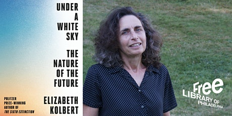 Elizabeth Kolbert | Under a White Sky: The Nature of the Future tickets