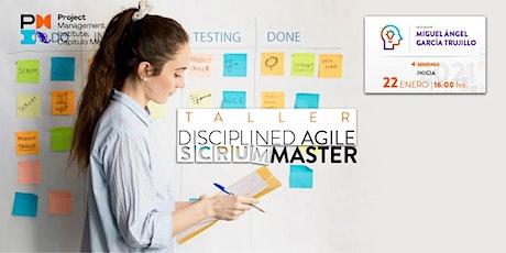 Taller de Disciplined Agile Scrum Master entradas