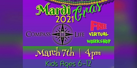 Mardi Gras 2021 Youth Virtual Workshop! tickets