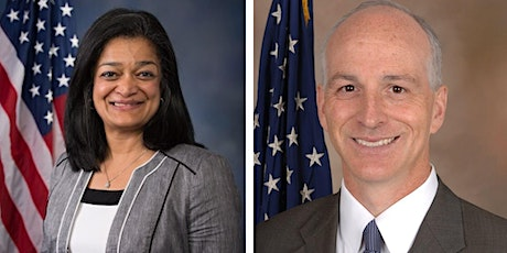Lunchtime Q&A Meeting w/Rep. Jayapal & Rep. Smith Staff tickets