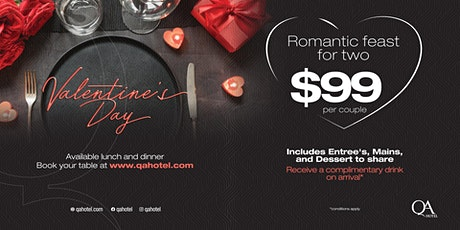 Valentine's Day @ The QA Hotel tickets