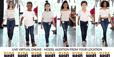 KIDS 4-8 Fashion Show Virtual Audition tickets
