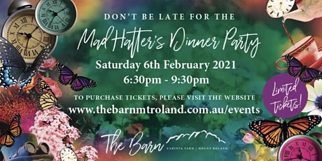 Mad Hatter Dinner Party tickets