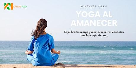 Yoga al amanecer tickets