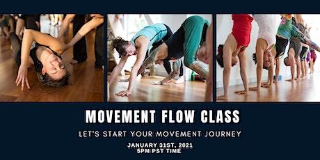 Online Movement Flow Class tickets