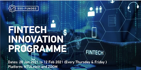 Fintech Disruption for the Future of Finance Programme Tickets