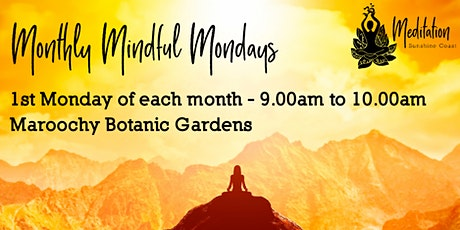 Monthly Mindful Mondays tickets