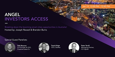 Breaking down the booming smart cities opportunities in Australia! tickets