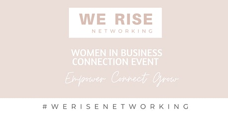 'Women in Business 'Connection Event' Launch Moreton Bay tickets