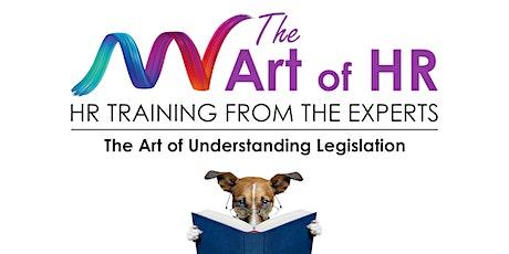 The Art of Understanding Legislation tickets