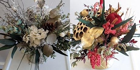 Christmas in July - Dried/Preserved centrepiece Ar tickets
