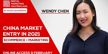 China Market Entry in 2021 Workshop: Ecommerce + Marketing Planning tickets