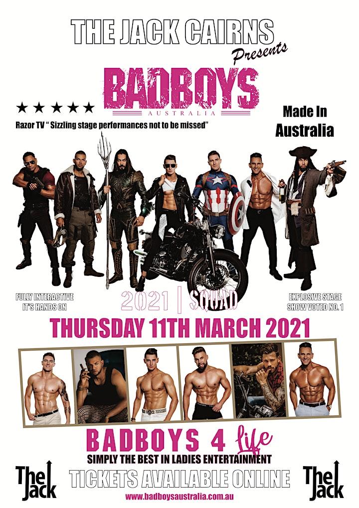 Badboys Australia LIVE at The Jack Cairns image