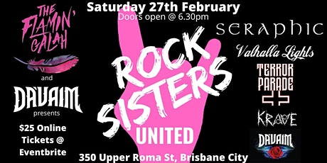 ROCK SISTERS UNITED!!!Supporting  and Celebrating Women in Music tickets
