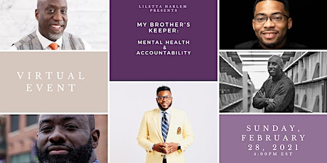 My Brother's Keeper: Mental Health and Accountability tickets