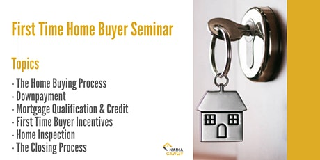 First Time Home Buyer Online Seminar tickets