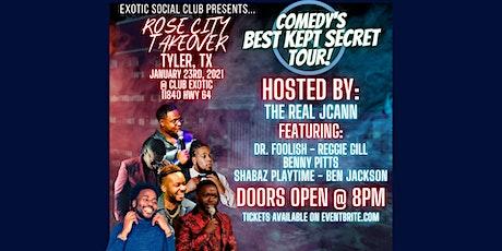 Comedy's Best Kept Secret Tour: Rose City Takeover (Tyler, TX) tickets