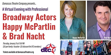 Damascus Theatre Company Presents a Virtual Discussion with Broadway Actors tickets