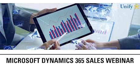 Microsoft Dynamics 365 Sales Webinar tickets