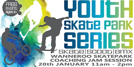 Freestyle Now / City of Wanneroo - Wanneroo skatepark coaching jam session tickets