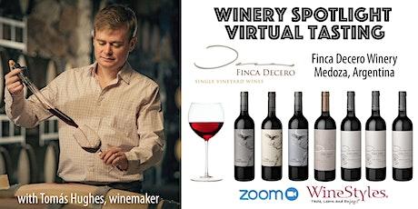 Finca Decero Virtual Wine Tasting tickets