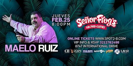 Maelo Ruiz en concierto Orlando tickets