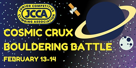 JCCA - Cosmic Crux Bouldering Battle tickets
