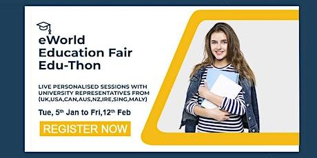 eWorld Education Fair Edu-Thon UK Series tickets