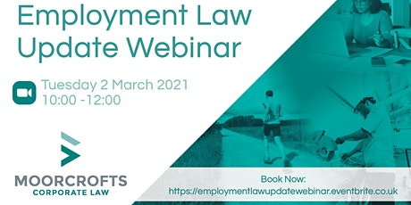 Employment Law Update Webinar tickets