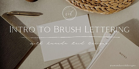 Intro to Brush Lettering Workshop 4/10 tickets