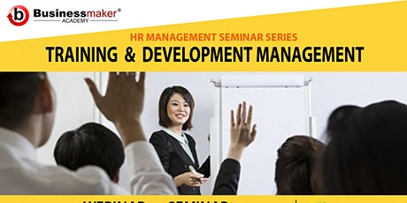 Live Webinar: Training & Development Management tickets