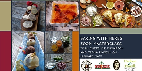 Baking with Herbs with Chefs Liz Thompson and Tasha Powell tickets
