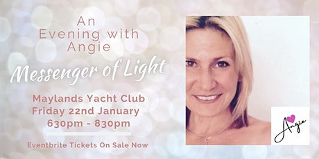 An Evening With Angie - Messenger of Light tickets
