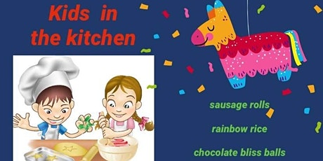 Kids cooking and craft tickets