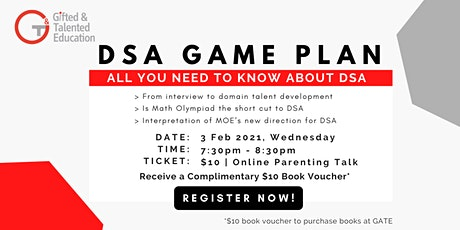 DSA Game Plan: All you need to know about DSA tickets