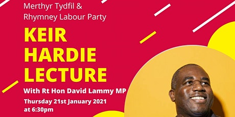 Keir Hardie Lecture with David Lammy MP tickets