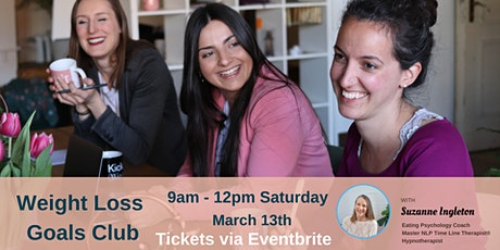 Weight Loss Goals Club March Workshop tickets