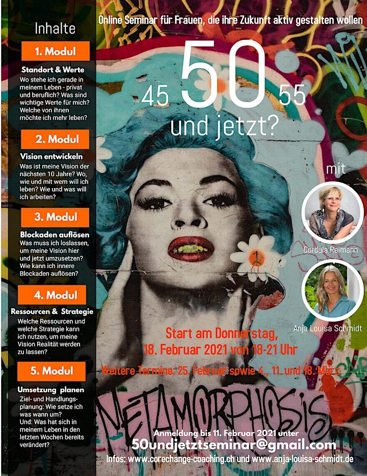 50 ! Und jetzt? Inspirierendes Seminar für Frauen zwischen 45-55 Jahren: Bild