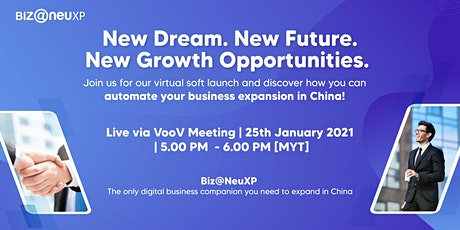 Discover how to expand your business in China with Biz@NeuXP tickets