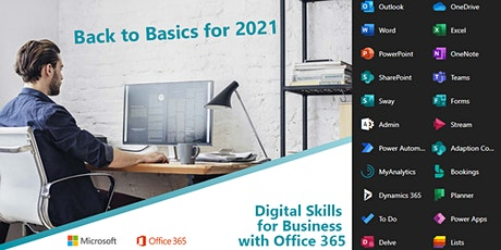 Digital Skills for Business with Office 365 tickets