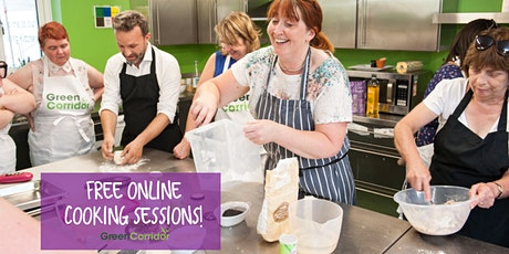 FREE Online Cooking Sessions - National Vegetarian Week! tickets