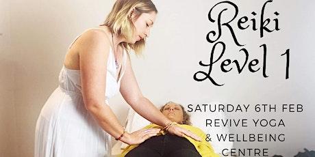 Reiki Level 1 Workshop tickets